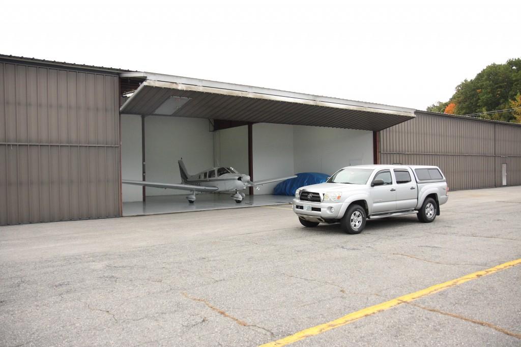 The hangar!
