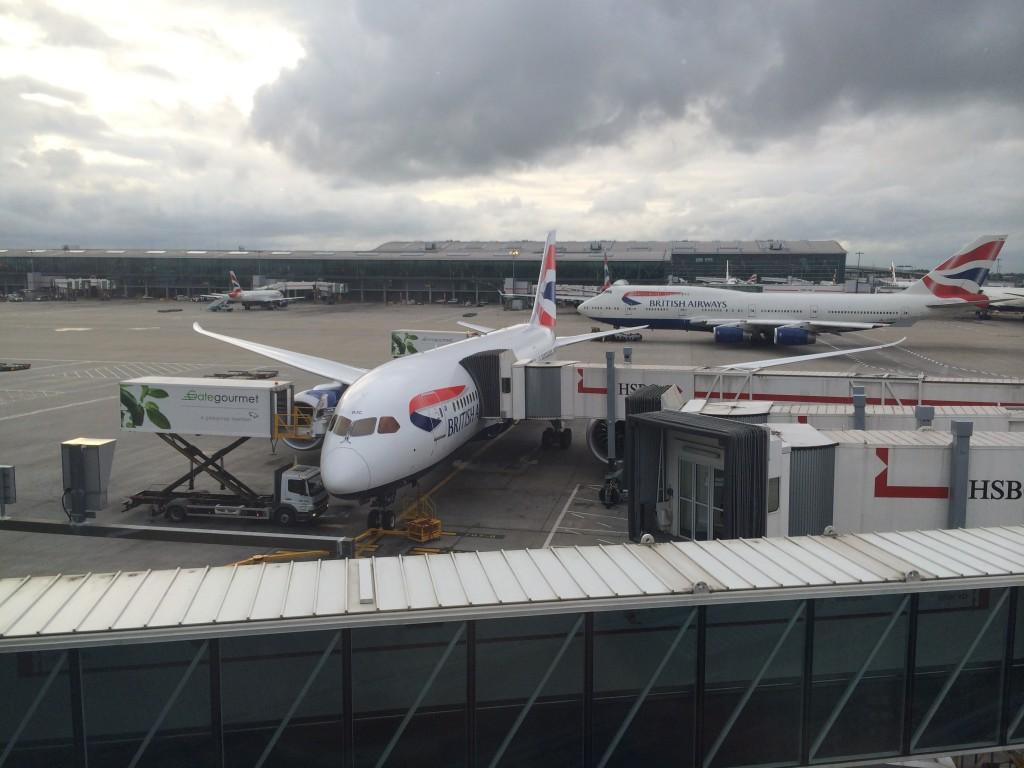 Lots of Boeings at LHR