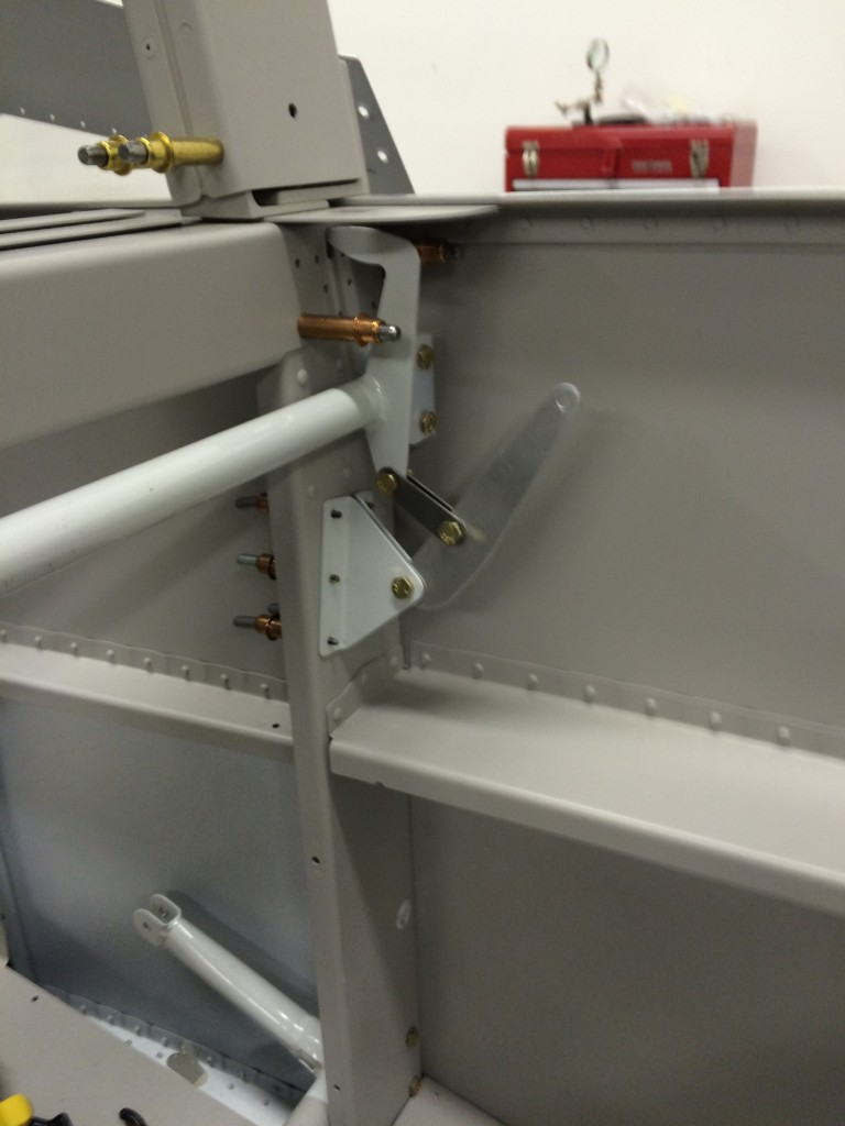 Latch tube drilled