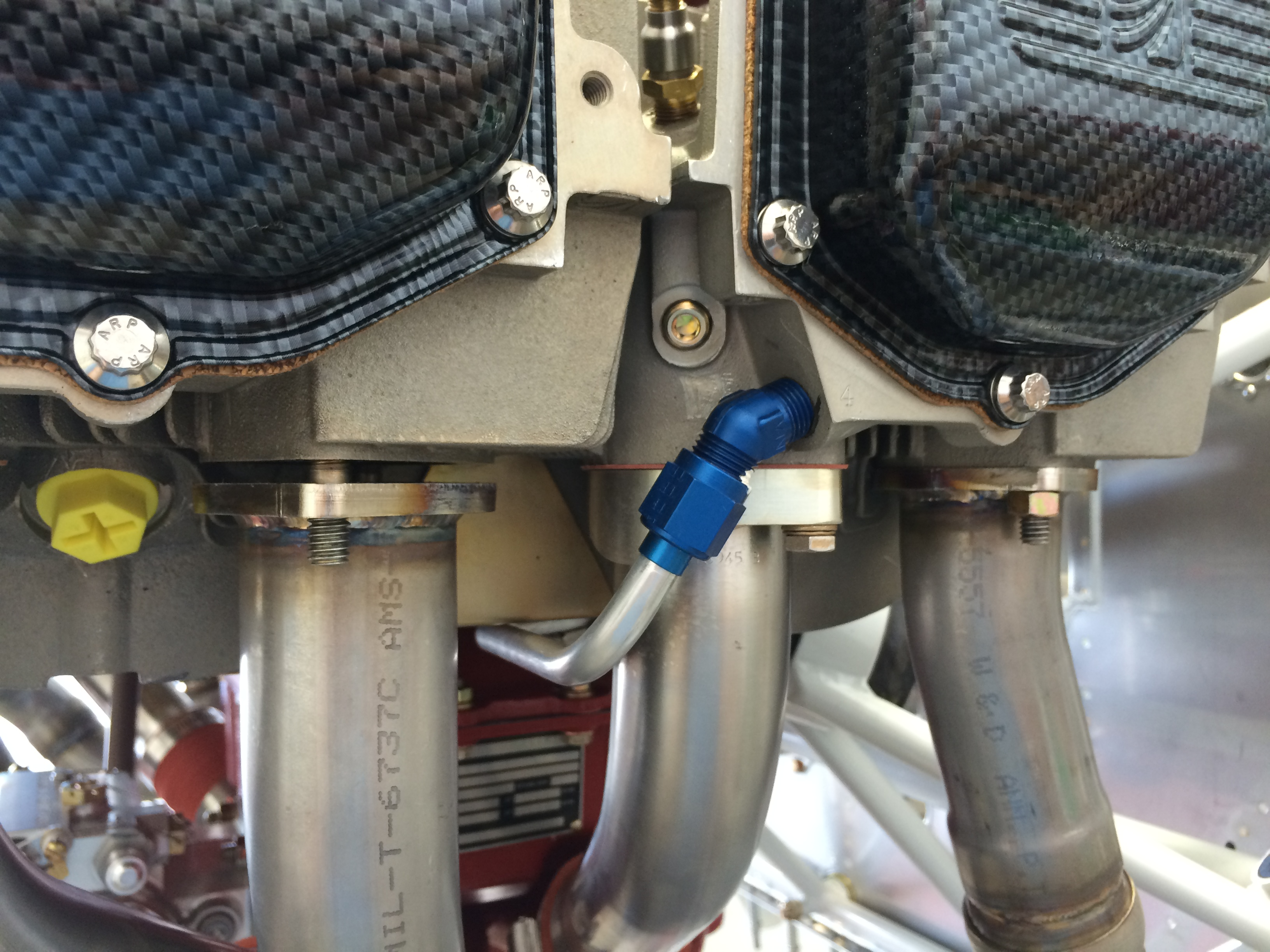 Exhaust gaps