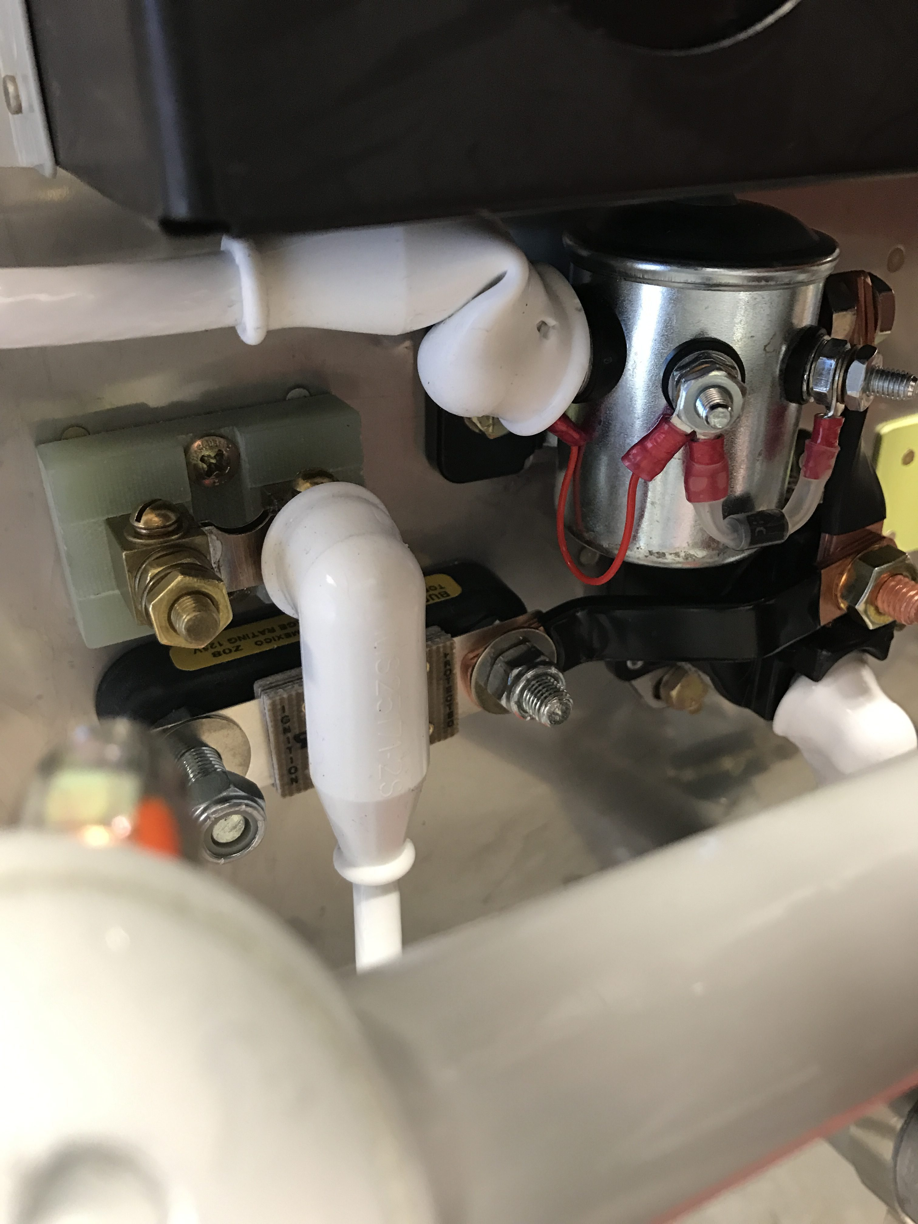 Contactor wiring