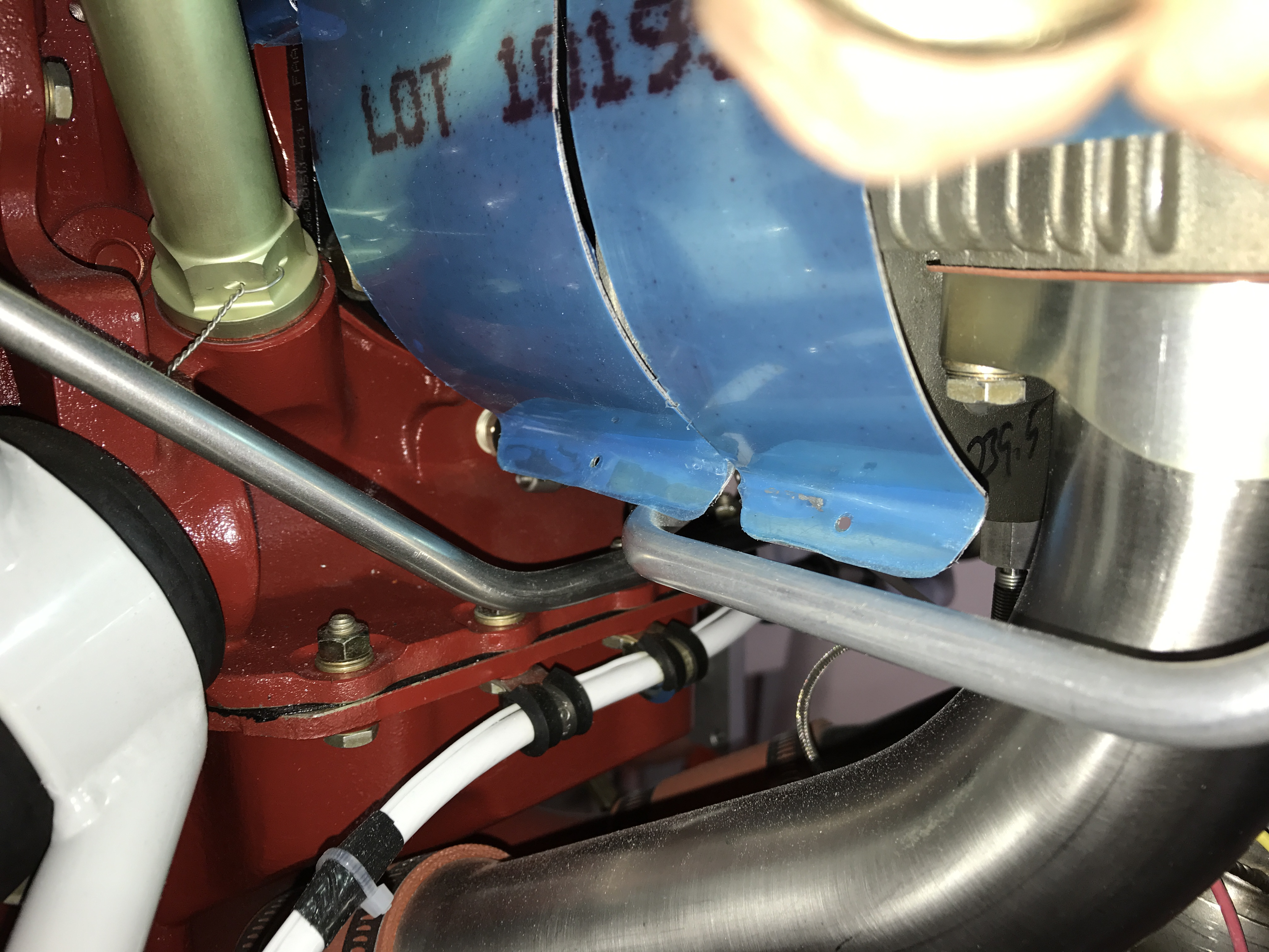 #3 cylinder rear baffle
